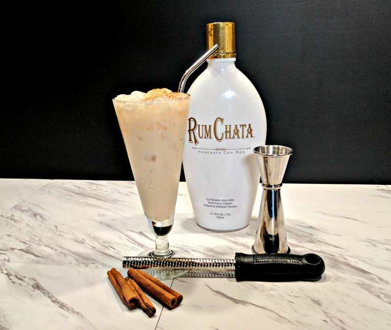 Orange RumChata Lassi