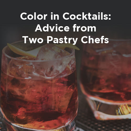 Red Color in Cocktails: Advice from two Pastry Chefs