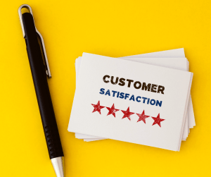 Customer Satisfaction Cards