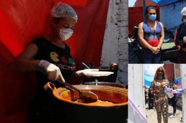 Instalan mujeres Trans comedor en Toluca | Abarlovento Informa
