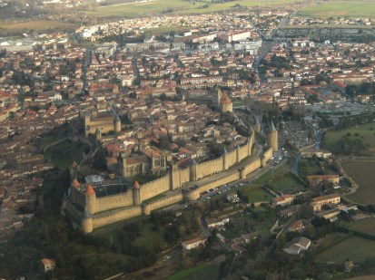 The famous fortified city : La Cité de Carcassonne