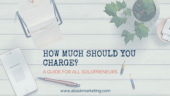Freelance rates - how much, set up, and publicity of your rates