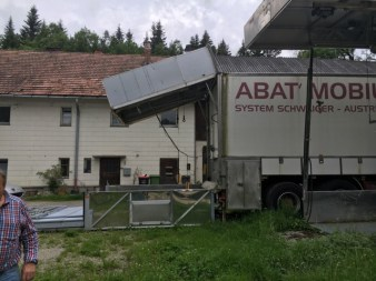 Camion abattoir mobile Schwaiger