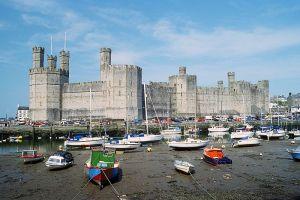 Author: Herbert Ortner via Wikipedia Commons Caernarfon Castle