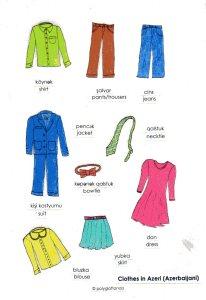 clothes Azeri