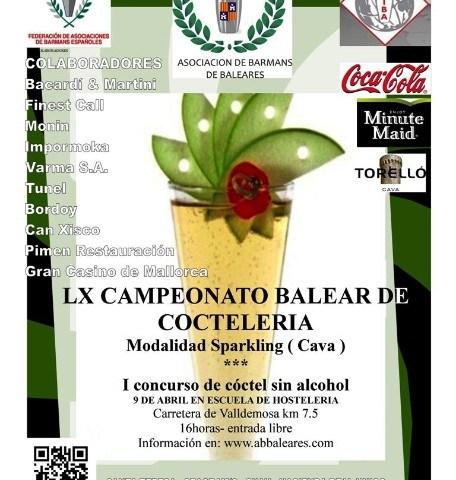 Kike Bayano y Carlos Martínez campeones del LX Concurso Balear de coctelería