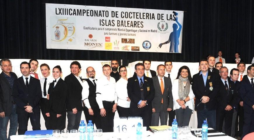 Resultados del LXIII Campeonato de coctelería de las Islas Baleares