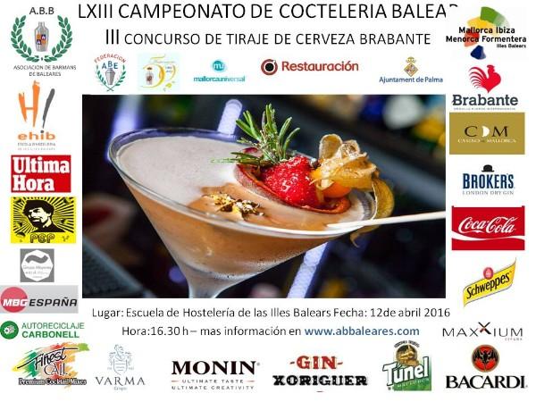 LXIII Campeonato de coctelería de las Islas Baleares