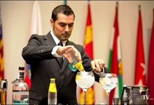 Felipe, preparando el G&T Subcampeón de España