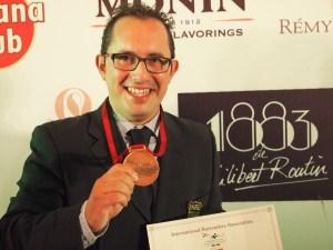 Rafael Martín gana la medalla de bronce en el Mundial de Pekín