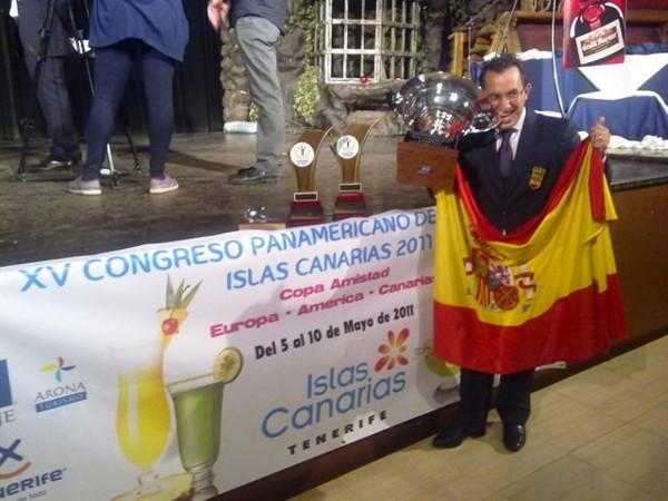 Rafael Martín campeón del XV Campeonato Panamericano