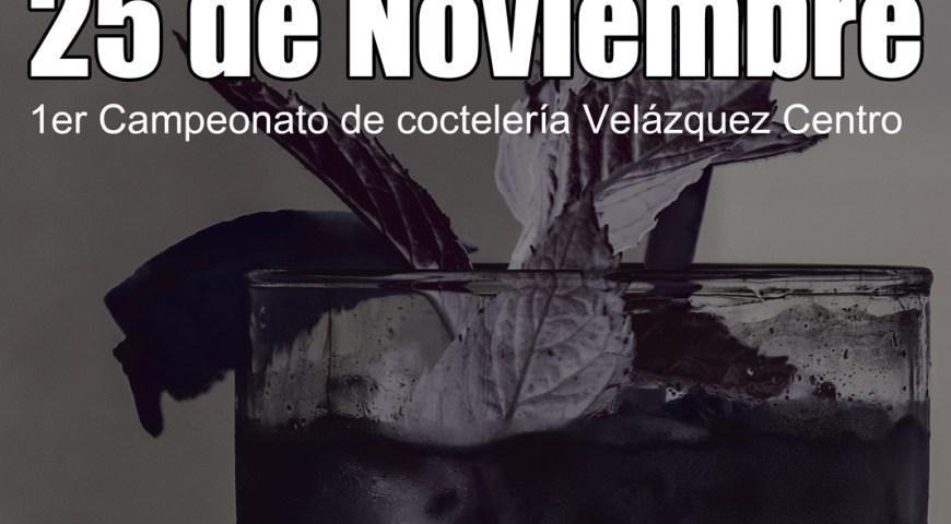l er Campeonato de cocteleria Velázquez Centro
