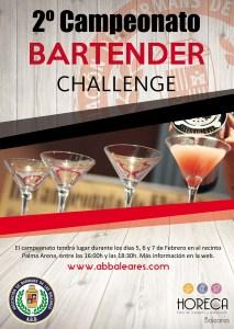 El próximo Bartender Challenge estará presente en HORECA Baleares