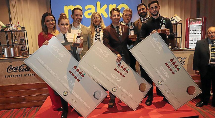 Fernando Calderon Campeón del 1º Campeonato de Coctelería de Coca-Cola Signature Mixers