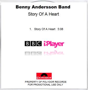 STORY OF A HEART CD PROMO