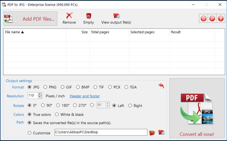 TriSun PDF to JPG Full Cracked
