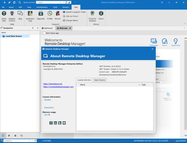 Remote Desktop Manager Enterprise Serial Key