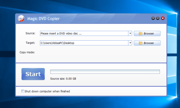 Magic DVD Copier Registration Code