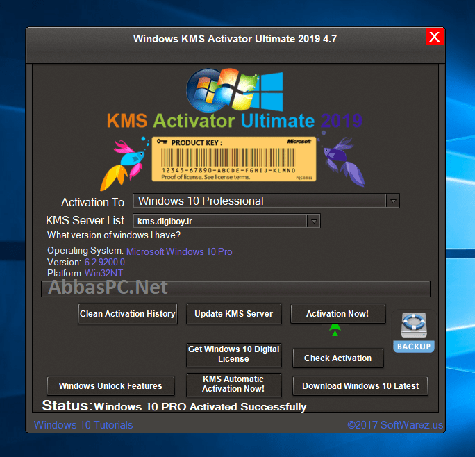 Windows KMS Activator Ultimate 2019 Full