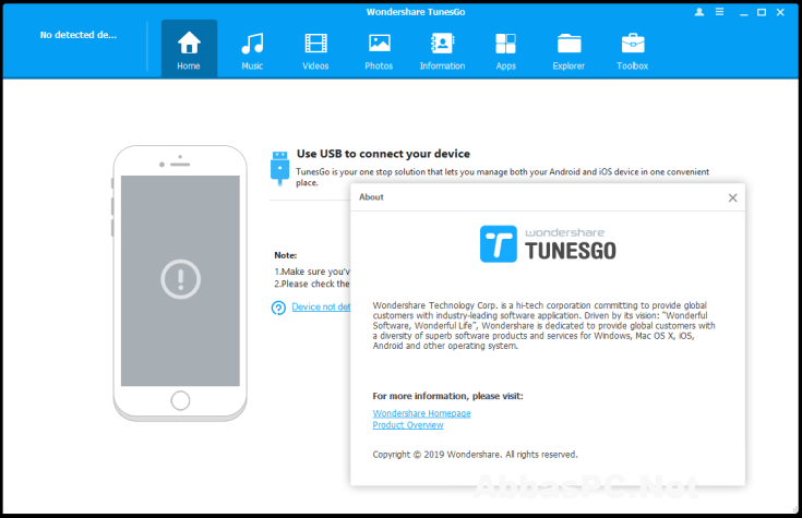 Wondershare TunesGo Registration Code Free Download