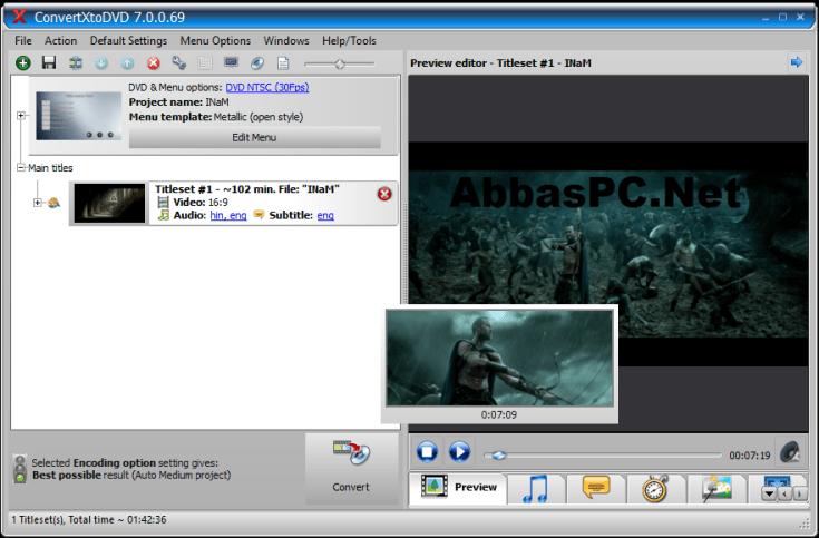 VSO ConvertXtoDVD License Key Free Download