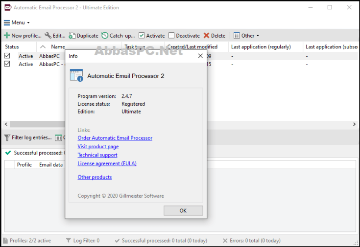 Automatic Email Processor Ultimate License Key