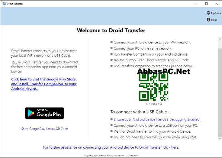 Droid Transfer License Key