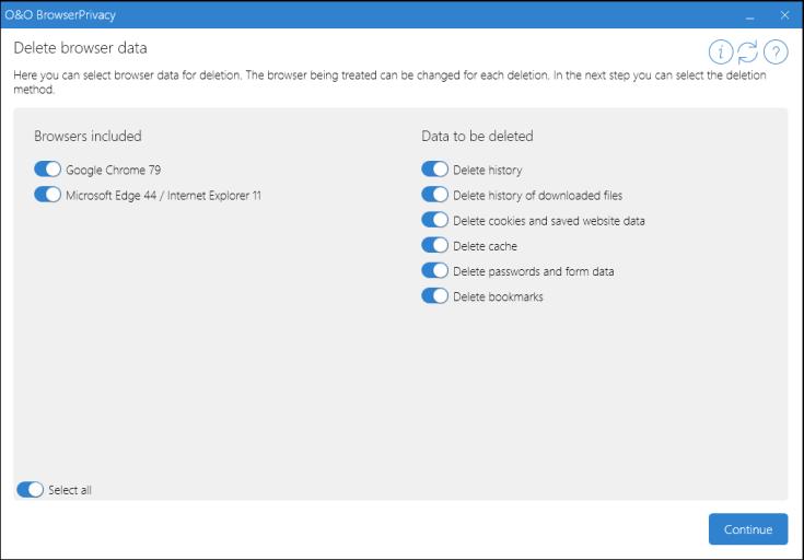 O&O BrowserPrivacy Registration Code