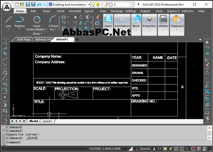 ActCAD Professional License Key