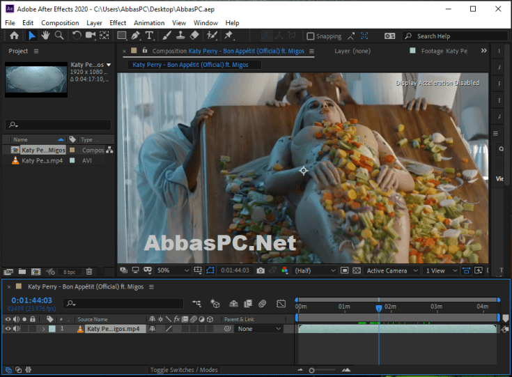 Adobe After Effects CC Full Version Cracked