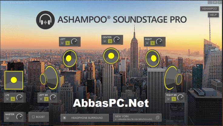 Ashampoo Soundstage Pro License Key