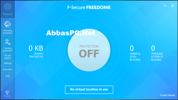 F-Secure Freedome VPN Cracked Code for PC