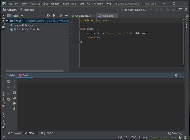 JetBrains CLion Full Version for Windows