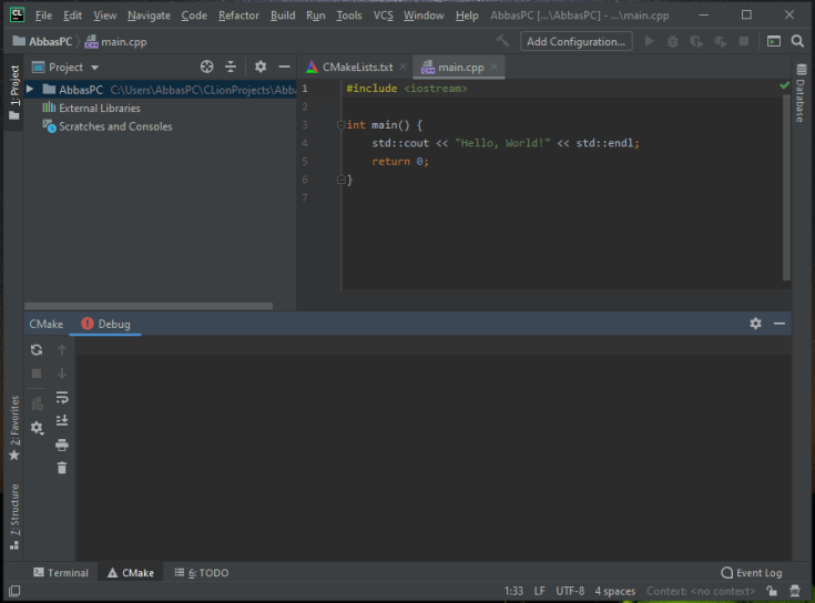 JetBrains CLion Full Version for Windows