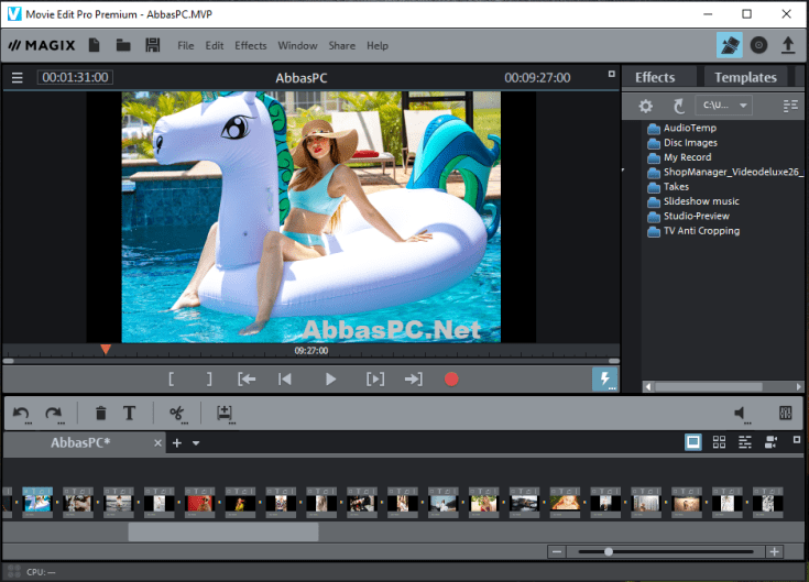 MAGIX Movie Edit Pro Premium Serial Number