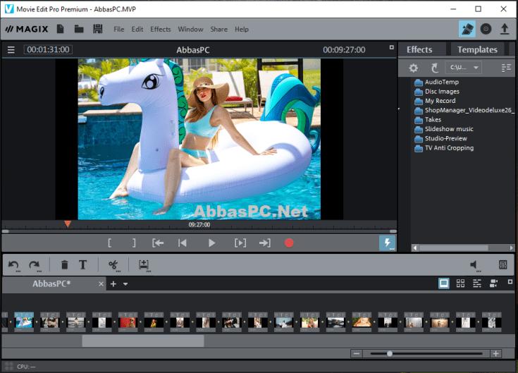 MAGIX Movie Edit Pro Premium Serial Number Free Download