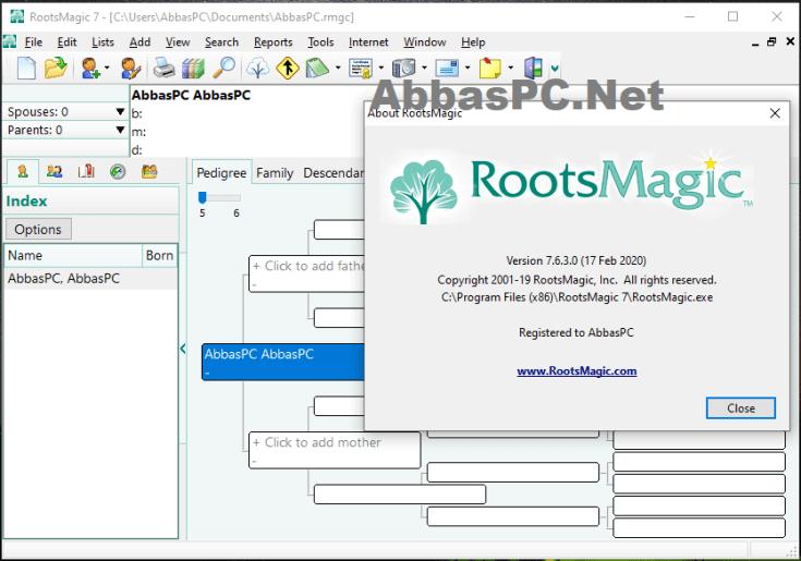 RootsMagic Serial Key