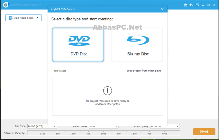 AnyMP4 DVD Creator Registration Code