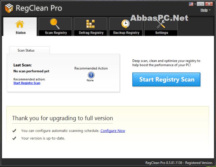 RegClean Pro License Key