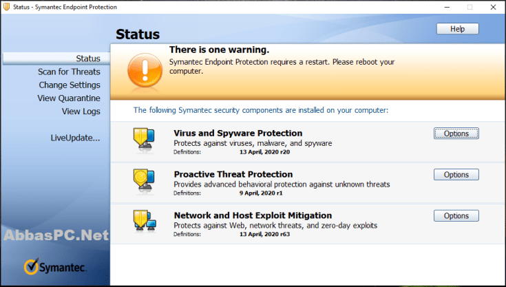 Symantec Endpoint Protection License Key