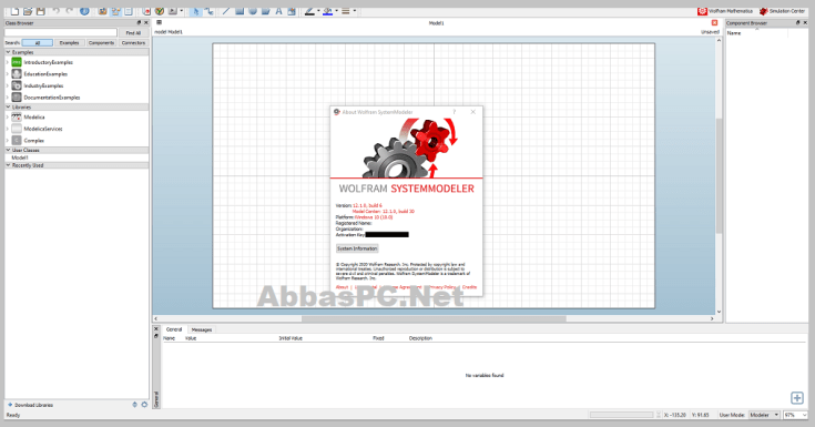 Wolfram SystemModeler Free Download for Windows