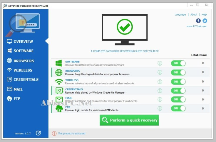 Advanced Password Recovery Suite Activation Code Download