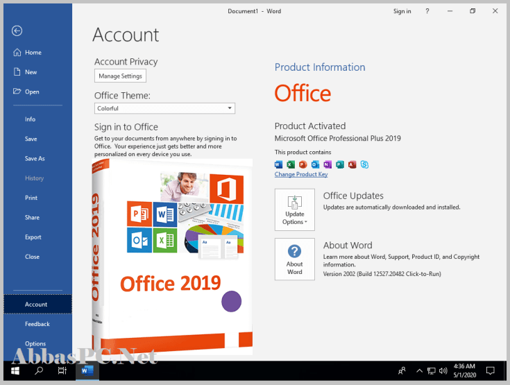 Microsoft Office 2019 Professional Plus Product Key Free Download
