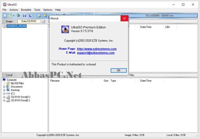 UltraISO 9.7.5 Registration Code Free Download