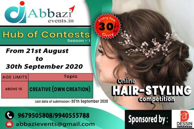 online-hairstyling-contest