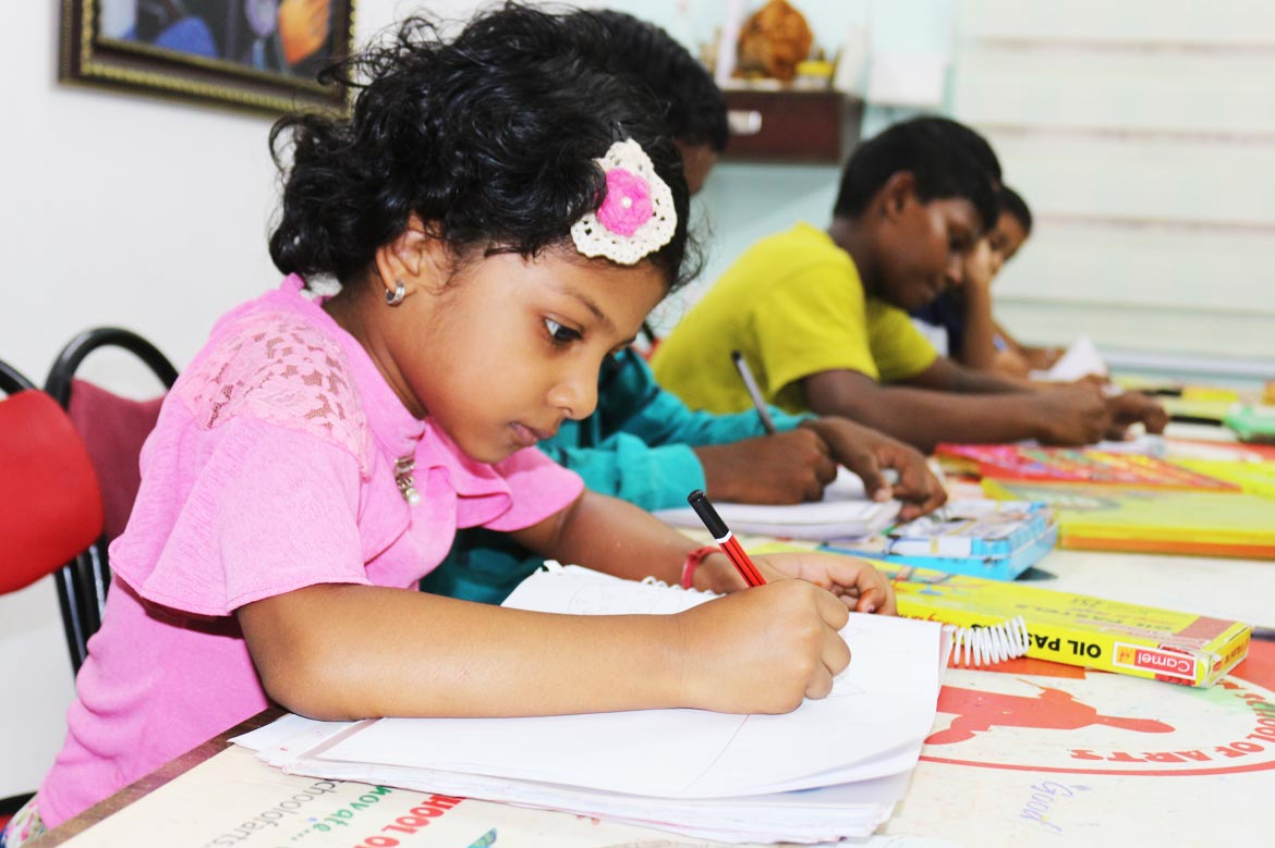 Best Drawing Class for Kids and Adults in Pammal