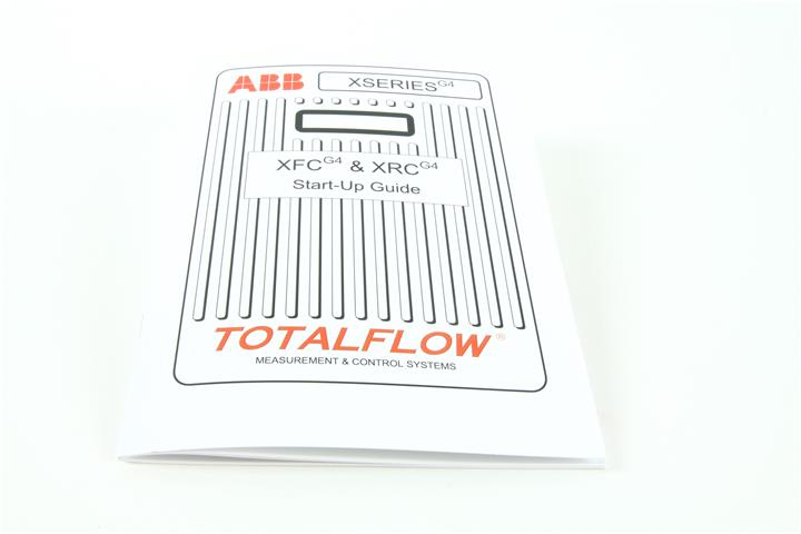 ABB MANUAL,TF,XSERIES G4 START-UP GUIDE