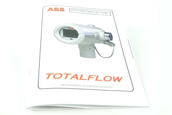 ABB MANUAL,TF,PGC1000,STARTUP GUIDE