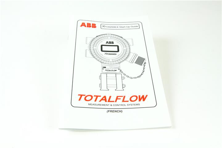 ABB MANUAL,TF,XFC6200EX START-UP GUIDE-FREN