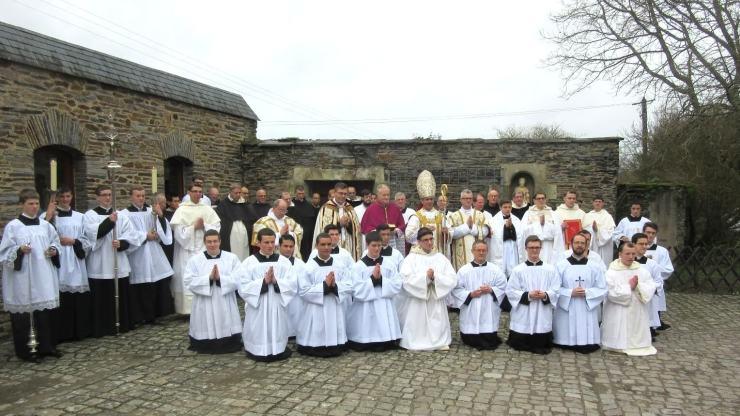 Ordinations au séminaire St Louis Marie Grignion de Montfort